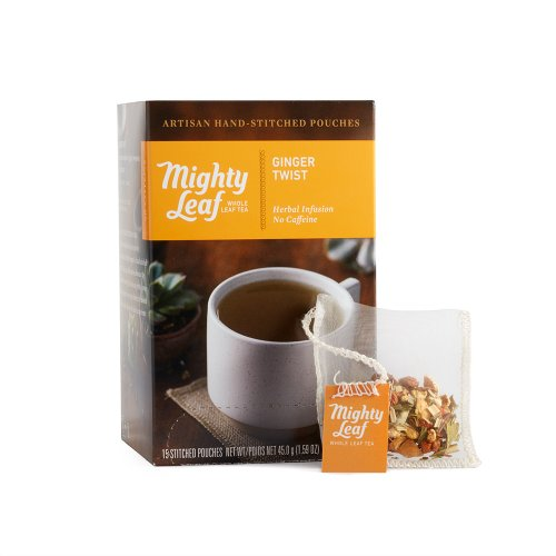 Mighty Leaf Ginger Twist Tea, 15 Tea Pouches