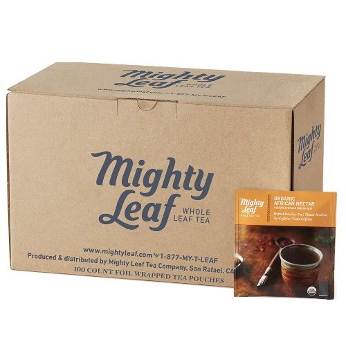 Mighty Leaf Organic African Nectar Tea, 100 Tea Pouches