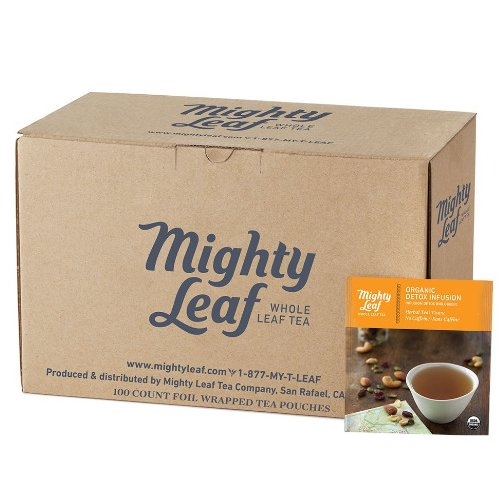 Mighty Leaf Organic Detox Infusion Tea, 100 Tea Pouches