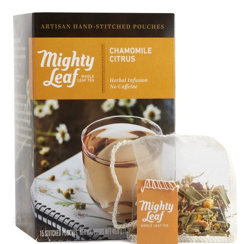Mighty Leaf Chamomile Citrus Tea, 15 Tea Pouches