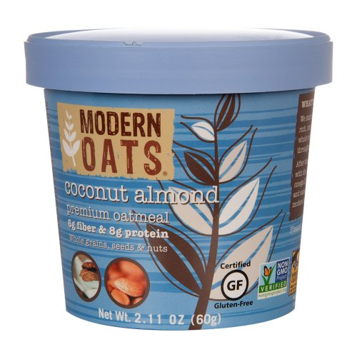 Modern Oats All Natural Oatmeal, Coconut Almond , 12 Count