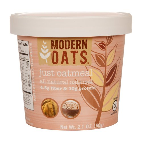 Modern Oats All Natural Oatmeal, Just Oats , 1 Single Serve