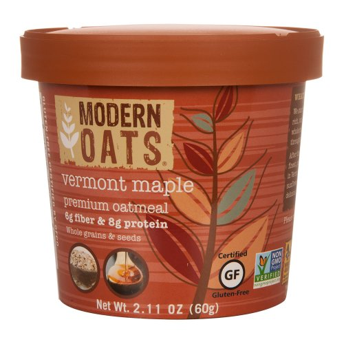 Modern Oats All Natural Oatmeal, Vermont Maple , 12 Count