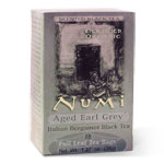 Numi Tea Aged Earl Grey - Bergamot Assam Black Tea,Case of 100