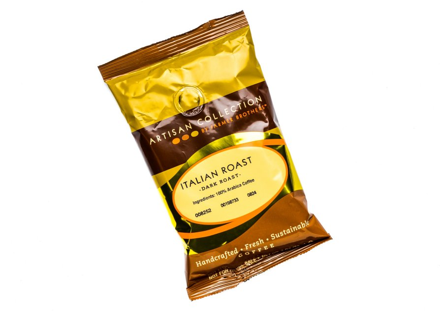 Farmer Brothers Italian Roast Coffee Pot Packs, 48/3 oz Bags, Artisan Collection