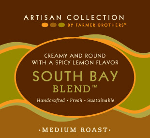 Farmer Brothers South Bay Blend Coffee Pot Packs, 48/3 oz Bags, Artisan Collection