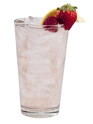 Sparkling Wildberry Lemon Soda (courtesy of Monin)