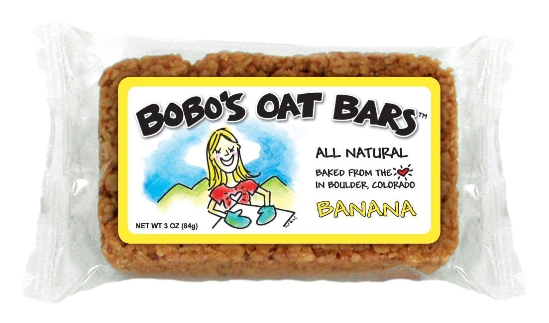 Bobo\'s Oat Bars Banana, 3-Ounce Packages- All Natural- Pack of 12