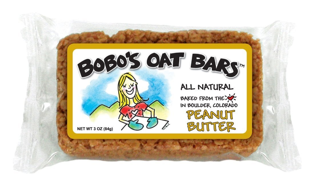 Bobo's Oat Bars All Natural, Peanut Butter, 3-Ounce Packages (Pack of 12)