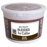 Big Train DECAF MOCHA Blended Iced Coffee Tub Kit