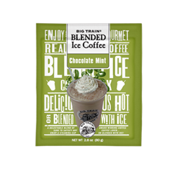 Big Train CHOCOLATE MINT Blended Iced Coffee - Single Serve