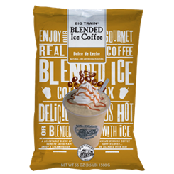 Big Train DULCE DE LECHE Blended Iced Coffee - 3.5 lb Bag