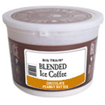 Big Train CHOCOLATE PEANUT BUTTER Blended Iced Coffee Tub Kit