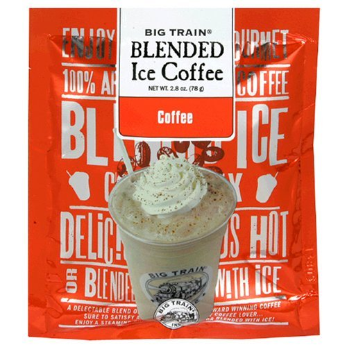 Big Train COFFEE Blended Iced Coffee - Single Serve Packet