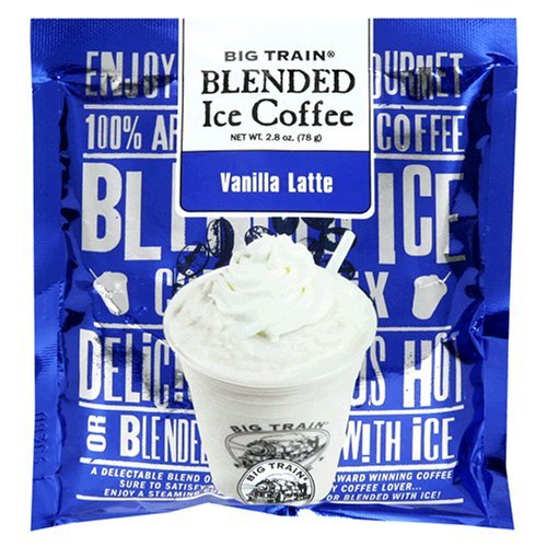 Big Train VANILLA LATTE Blended Iced Coffee, 3.5 lb Bag