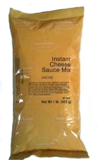 Farmer Brothers Instant Cheese Sauce Mix, 1 lb Bag