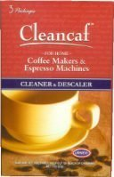 Cleancaf Coffee Maker & Espresso Machine Cleaner & Descaler
