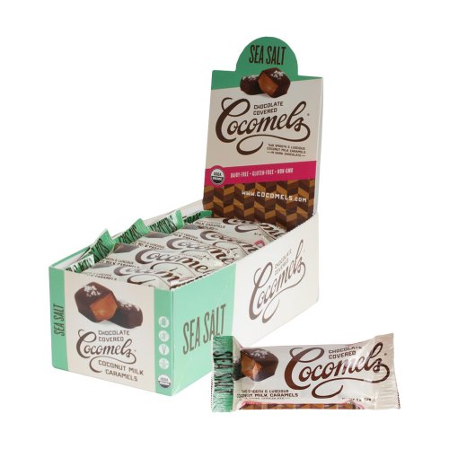 Cocomels Coconut Milk Caramels, Sea Salt -Box of 15
