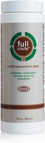Full Circle Brand Coffee Equipment Wash, 500 gram jar