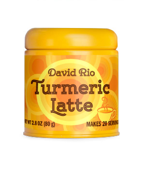 David Rio Tumeric Latte, 2.8 oz Canister
