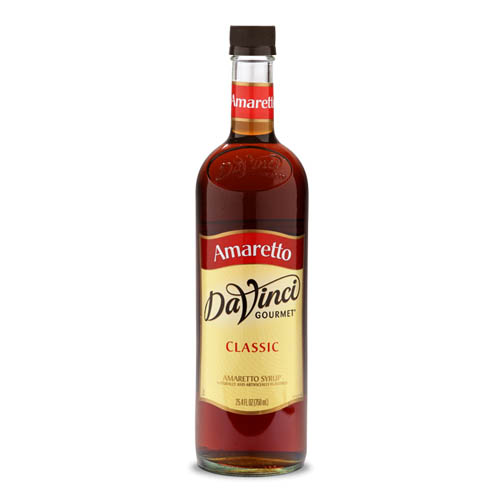 Da Vinci Amaretto Syrup, 750 ml