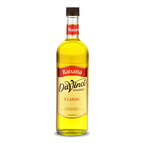 Da Vinci Banana Syrup, 750 ml