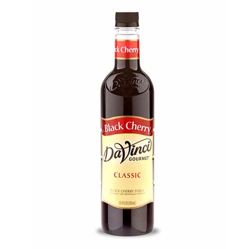 Da Vinci Black Cherry Syrup, 750 ml Plastic
