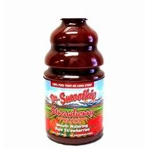 Dr Smoothie Strawberry 100% Crushed Fruit Smoothie Concentrate