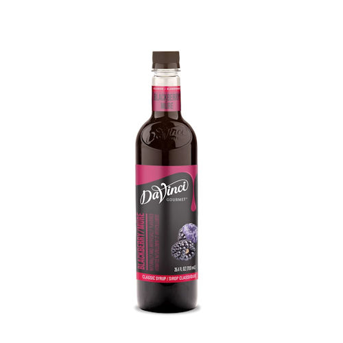Da Vinci Blackberry Syrup, 750 ml plastic