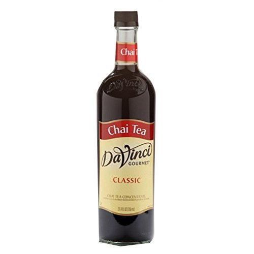 Da Vinci Chai Tea Concentrate Syrup, 750 ml