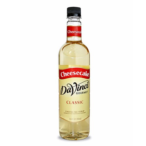Da Vinci Cheesecake Syrup, 750 ml Plastic