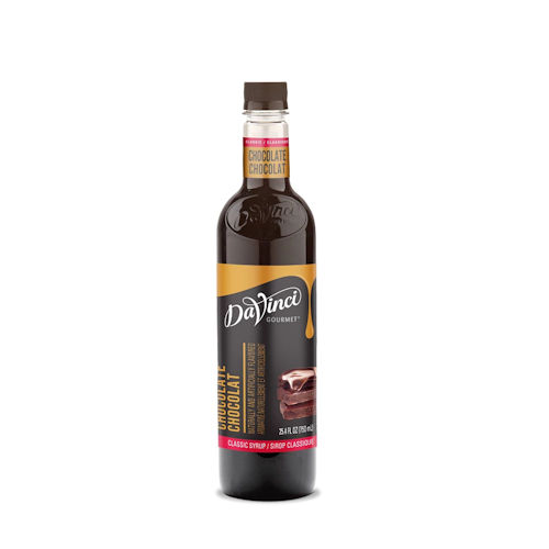 Da Vinci Chocolate Syrup, 750 ml Plastic