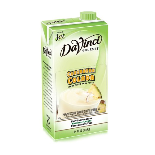 Da Vinci Caribbean Colada Smoothie Mix, 64 oz