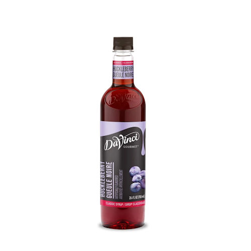 Da Vinci Huckleberry Syrup, 750 ml plastic