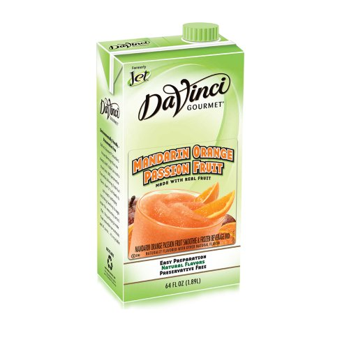 Da Vinci Mandarin Orange Passion Fruit Smoothie Mix, 64 oz