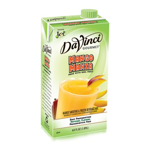 Da Vinci Mango Mania Smoothie Mix, 64 oz