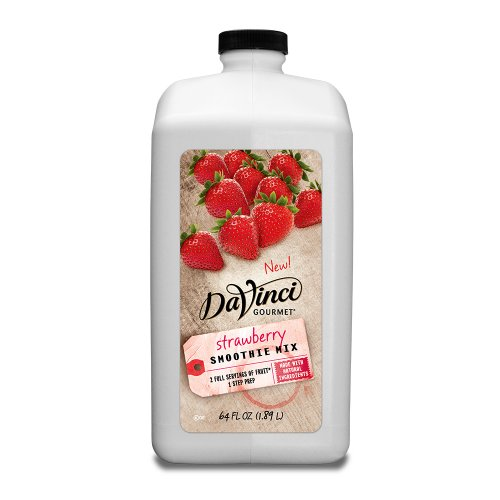 Da Vinci Strawberry Smoothie (All Natural) - 64 oz