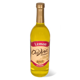 Da Vinci Lemon Syrup, 750 ml