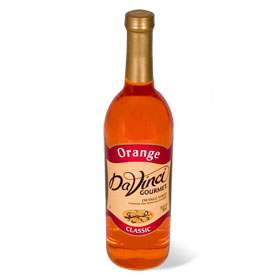 Da Vinci Orange Syrup, 750 ml