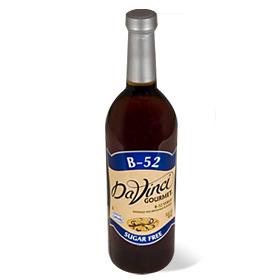 Da Vinci SUGAR FREE B-52 Syrup with Splenda, 750 ml