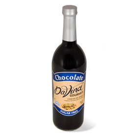 Da Vinci Sugar Free Chocolate Syrup with Splenda, 750 ml