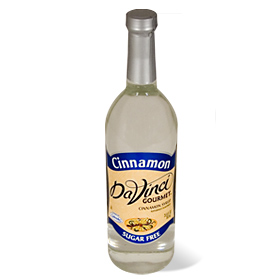 Da Vinci SUGAR FREE Cinnamon Syrup with Splenda, 750 ml