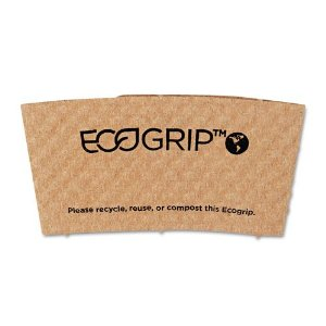 Eco-Products EcoGrip Recycled Coffee Jacket, 1,300 units