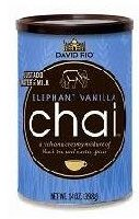 David Rio Elephant Vanilla Chai Tea, 14 oz