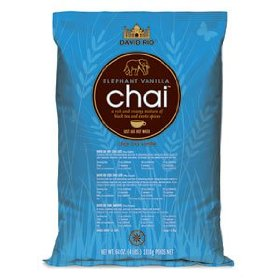 David Rio Elephant Vanilla Chai Tea, 4 lb bag
