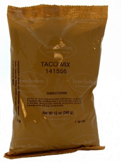 Farmer Brothers Taco Mix #1 Seasoning, 12 oz bag