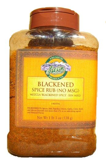 Farmer Brothers Blackened Spice Rub (No MSG), 1 lb 3 oz