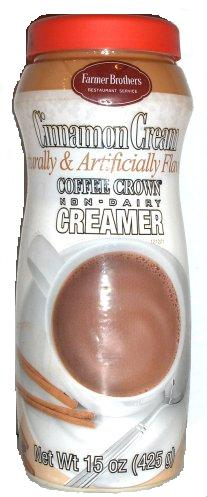 Farmer Brothers Cinnamon Cream Non-Dairy Coffee Creamer, 15 oz