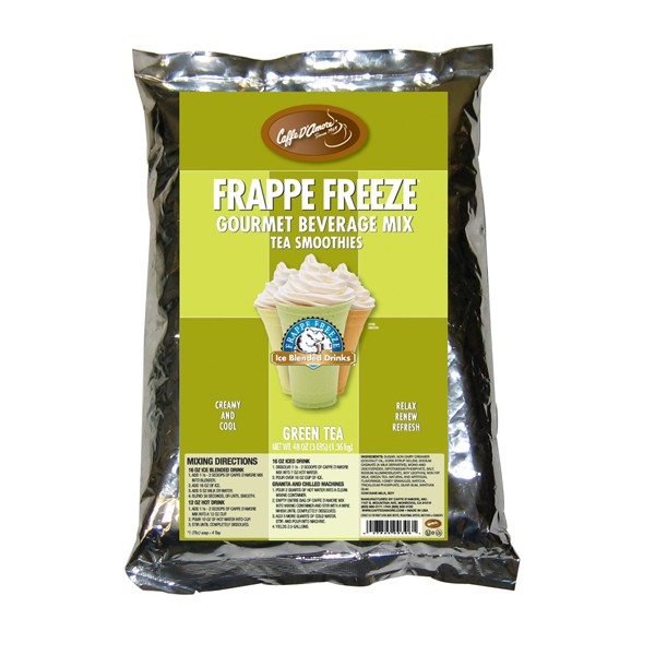 Caffe D'Amore Frappe Freeze Matcha Green Tea Smoothie - 3 lb Bag