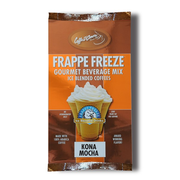 Caffe D'Amore Frappe Freeze Kona Mocha Freeze - 3 lb Bag